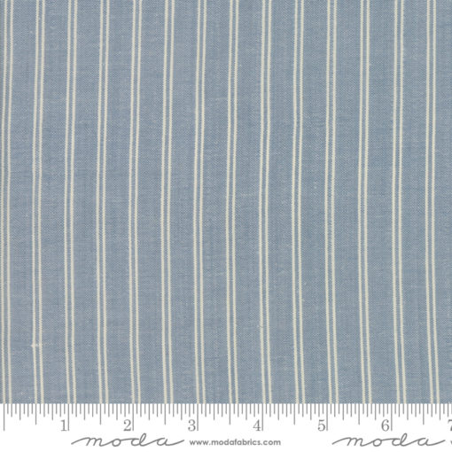Northport Silky Stripe Med Blue