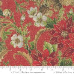 Poinsettias Pine        Crimson