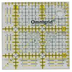 Ruler With Grid 2.5 X 2.5