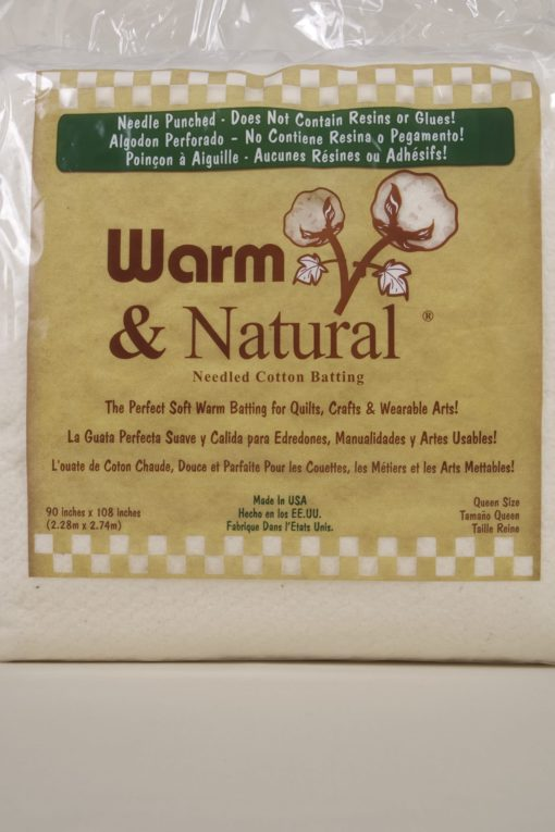 Batting Warm and Natural