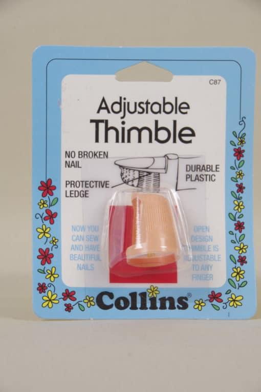 Collins Adjustable Thimble
