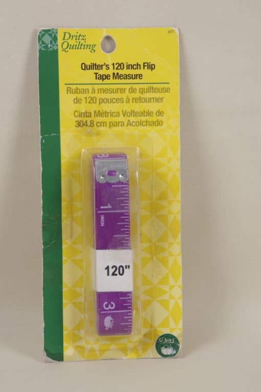 Dritz Quilter's 120 inch Flip Tap Measure