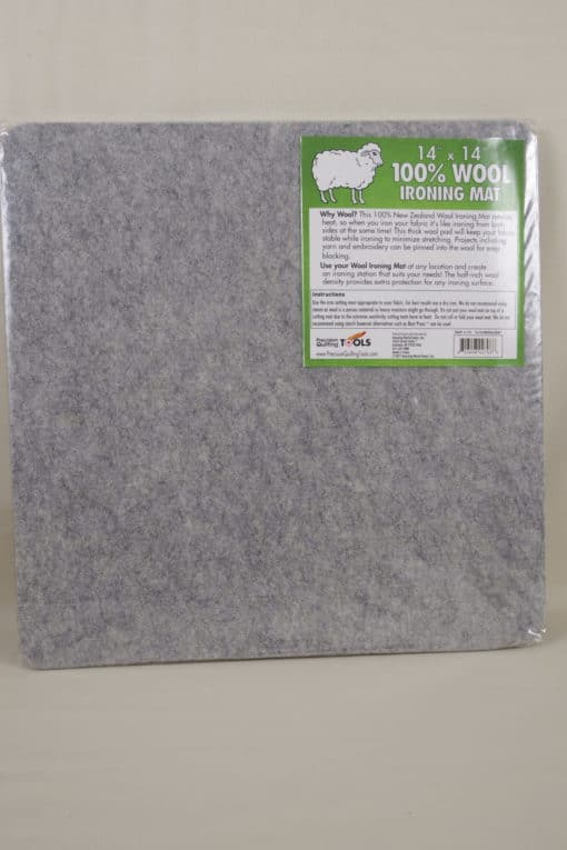 Precision Quilting Tools 100% Wool Ironing Mat 14″ x 14″