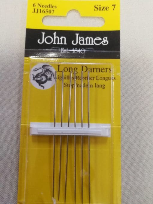 John James Embroidery Needles Size 7