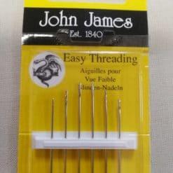 John James Embroidery Needles Size 4/8