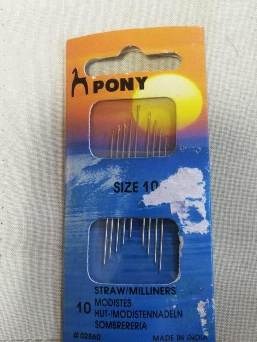 Pony Needles Size 10