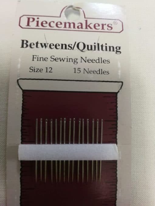 Piecemakers Between/Quilting Size 12