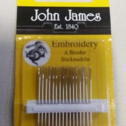 John James Embroidery Needles Size 6