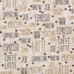 Studio Fabrics   Coffee Brake  Fabric