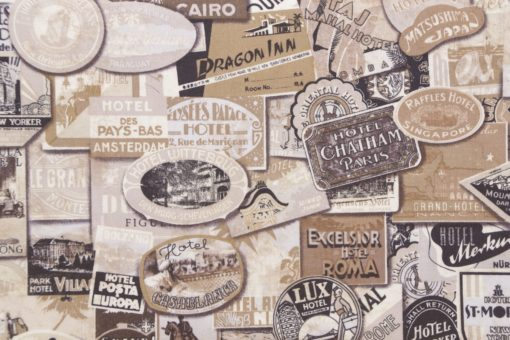 Eclectic Elements Tim Holtz  Fabric