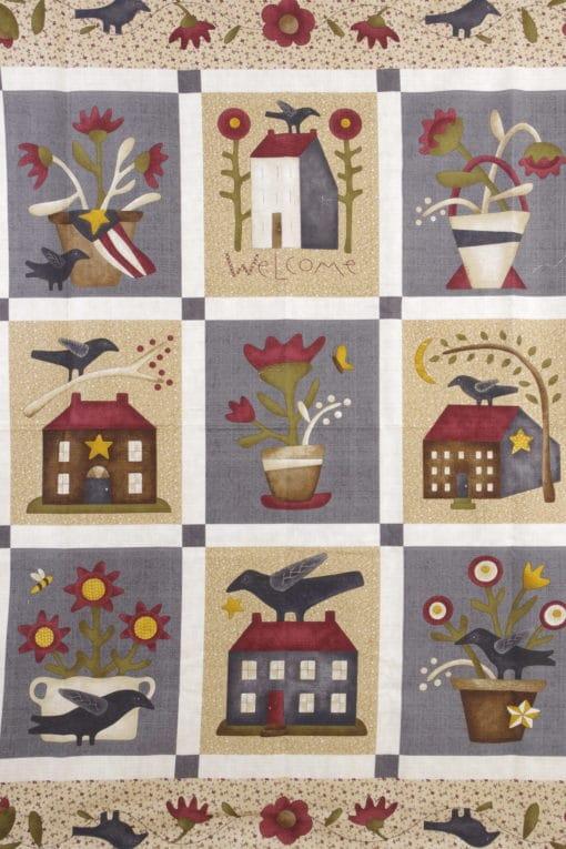 Henry Glass Panel Fabric