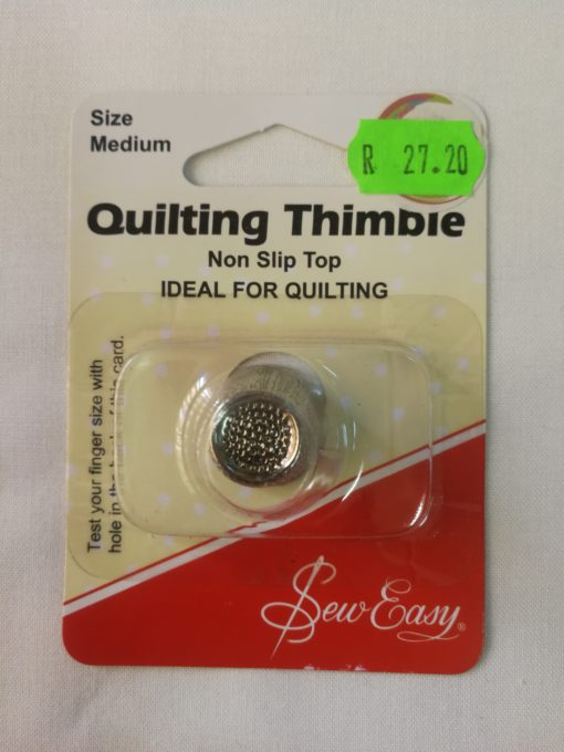 Sew Mate Quilting Thimble